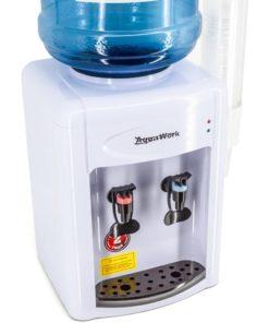 Кулер Aqua Work 0.7-TDR бело-черный с бутылью