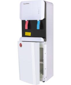 Кулер Aqua Work 105-LDR бело-черный